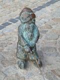 弗罗茨瓦夫,西里西亚,波兰矮人,地精Wroclaws旅游景点 免版税库存照片