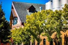 弗莱彻, NC 2016年10月15日-内华达山啤酒厂 图库摄影