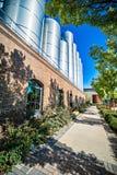 弗莱彻, NC 2016年10月15日-内华达山啤酒厂 免版税库存照片