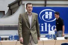 弗里德里克尼曼-希尔顿的布加勒斯特前CEO 库存图片