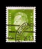 弗里德里希・艾伯特1871-1925,德国serie的总统,大约1932年 库存照片