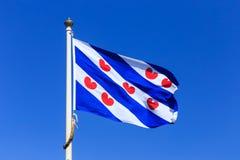 弗里斯兰省人旗子 免版税图库摄影