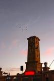弗里曼特尔纪念品100th安扎克黎明服务 库存图片