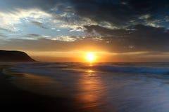 弗里曼的海滩,澳大利亚 免版税库存照片