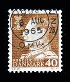 弗雷德里克国王IX, serie,大约1961年 库存照片
