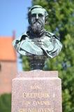 弗雷德里克国王VII由Højby教会 免版税库存照片