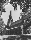 弗雷德里克顿,新不伦瑞克,加拿大英国国教主教管区的宗教会议  图库摄影