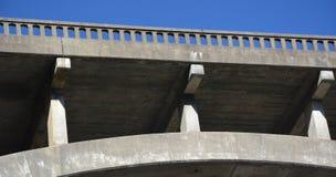 弗雷德里克W Panhorst桥梁,通常叫作俄国谷桥梁在门多西诺郡,加利福尼亚美国 免版税库存照片