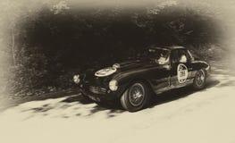 弗雷泽纳什勒芒小轿车1953年 免版税库存图片