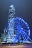 弗累斯大转轮香港市 免版税库存图片