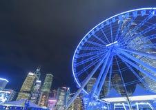 弗累斯大转轮香港 免版税库存照片