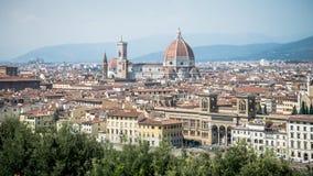 弗洛朗斯,意大利- 2014年9月7日:弗洛朗斯风景看法  免版税库存照片