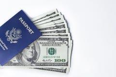 弛豫时间,旅游业,旅客` s辅助部件顶上的看法  免版税库存照片