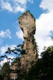 张家界国家公园,具体化山 库存照片