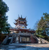张家界, Huangshizhai,湖南,中国 免版税库存图片