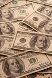 100张美国票据 免版税图库摄影
