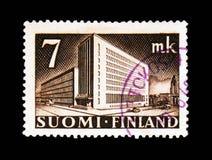 张贴政府大楼, serie,大约1942年 库存图片