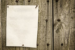 张贴的笔记 免版税库存照片