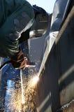 弧焊接 库存图片