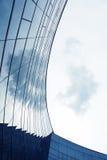 弧玻璃结构 免版税库存图片