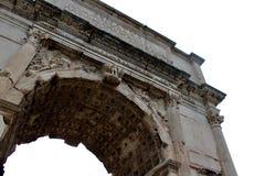 弧罗马 免版税库存图片