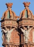 弧巴塞罗那de西班牙trionf 免版税库存照片