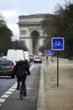 弧de巴黎triomphe 图库摄影