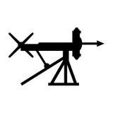 弩炮 免版税图库摄影
