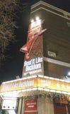 弯它喜欢贝克汉姆音乐在菲尼斯剧院-伦敦英国英国 免版税图库摄影