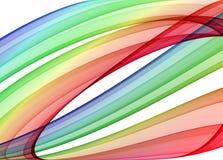 弯曲多彩多姿 向量例证