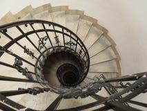 弯曲的楼梯 库存照片