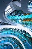 弯曲的楼梯 免版税图库摄影