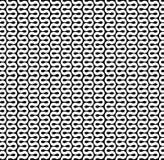 弯曲的波浪线样式 免版税库存图片