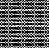 弯曲的波浪线样式 库存照片