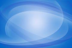 弯曲的线蓝色抽象背景 库存图片