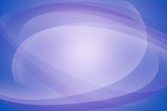 弯曲的线蓝色淡紫色抽象背景 免版税库存图片