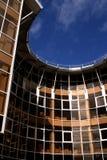 弯曲的结构大厦 库存图片