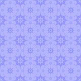 弯曲的紫色星无缝的背景  库存例证
