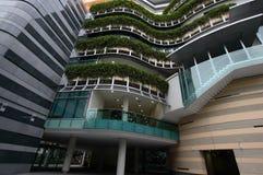 弯曲的balkonies 免版税库存图片