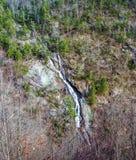 弯的山秋天,洛亚诺克县,弗吉尼亚,美国 免版税库存照片