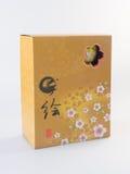 弯脚的 中国碗集合 在背景设置的中国碗 免版税库存图片