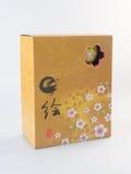 弯脚的 中国碗集合 在背景设置的中国碗 免版税图库摄影