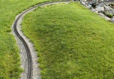 弯铁路 免版税库存照片