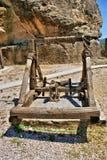 弹射一个古老武器 库存照片