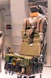 弹射位置在军舰USS强悍博物馆 库存照片