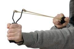 弹弓 免版税图库摄影