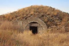 弹药古老维修站堡垒kerch 免版税图库摄影