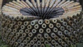 弹药和子弹头 免版税库存图片