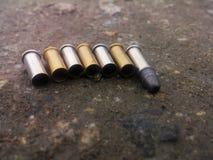 弹药和标度 库存照片