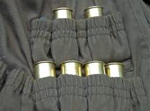 弹药弹药筒猎人夹克 免版税图库摄影